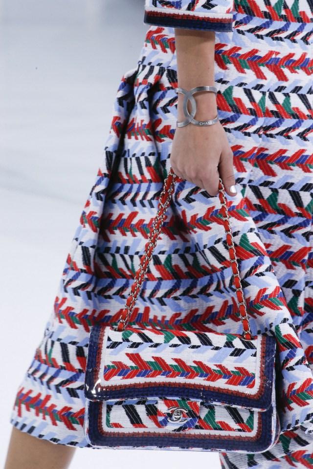 Модные сумки весна – лето 2016 - сумка из коллекции Chanel.