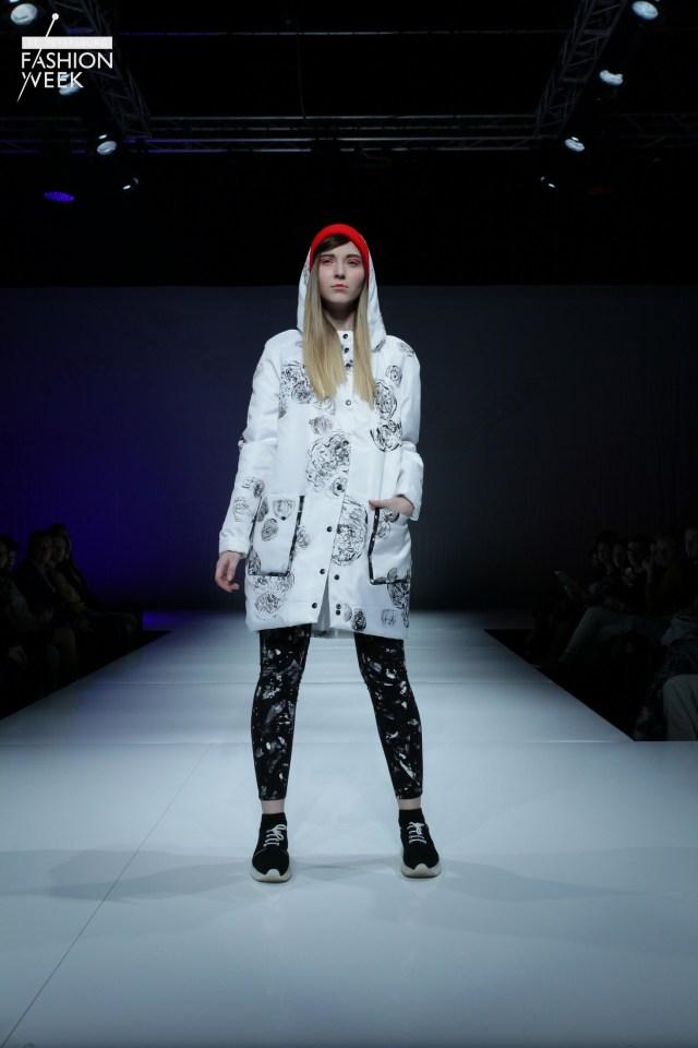 Показ коллекции SPbGU осень-зима 2016-2017 на Неделе моды в Санкт-Петербурге