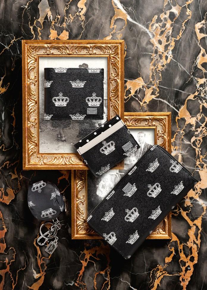 Коллекциия кошельков, портмоне от Dolce&Gabbana.