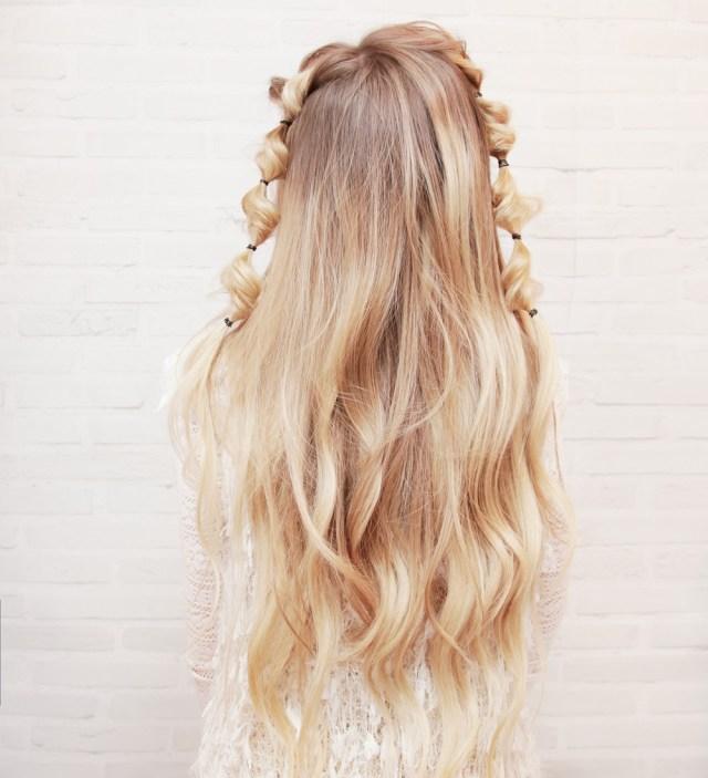Мастер клас - романтичная прическа на длинные волосы.