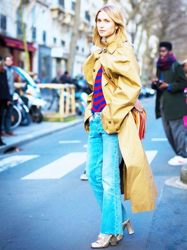 На фото: модный парад Пернила Тэйсбек.