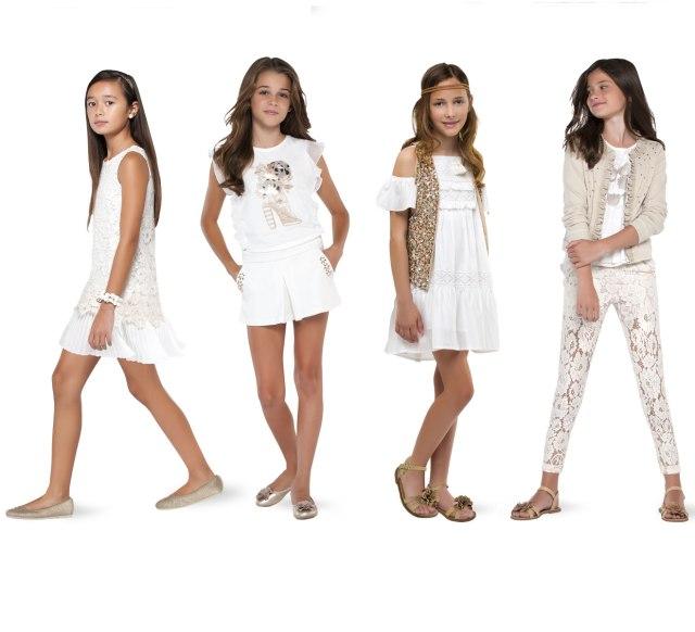 На фото: новая коллекция Mayoral для подростков девочек.