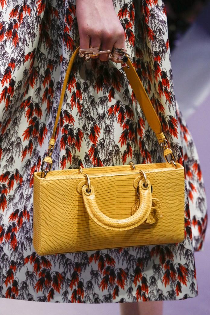 На фото: модная модель сумки осень-зима 2016-2017 из коллекции Christian Dior.