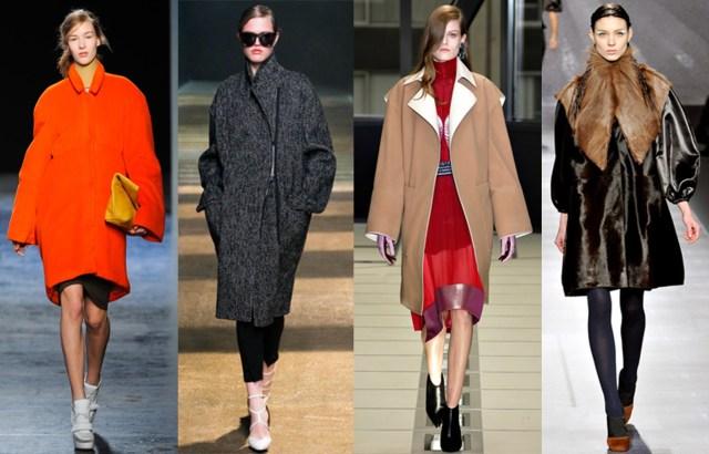 На фото: пальто в стиле оверсайз в 2016 году вошло в топ 3 самых востребованных и популярных фасонов.