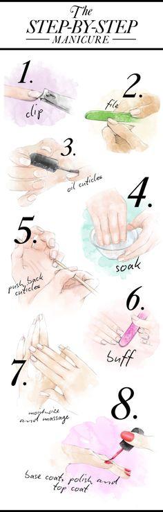 Шаг 9. Ногти