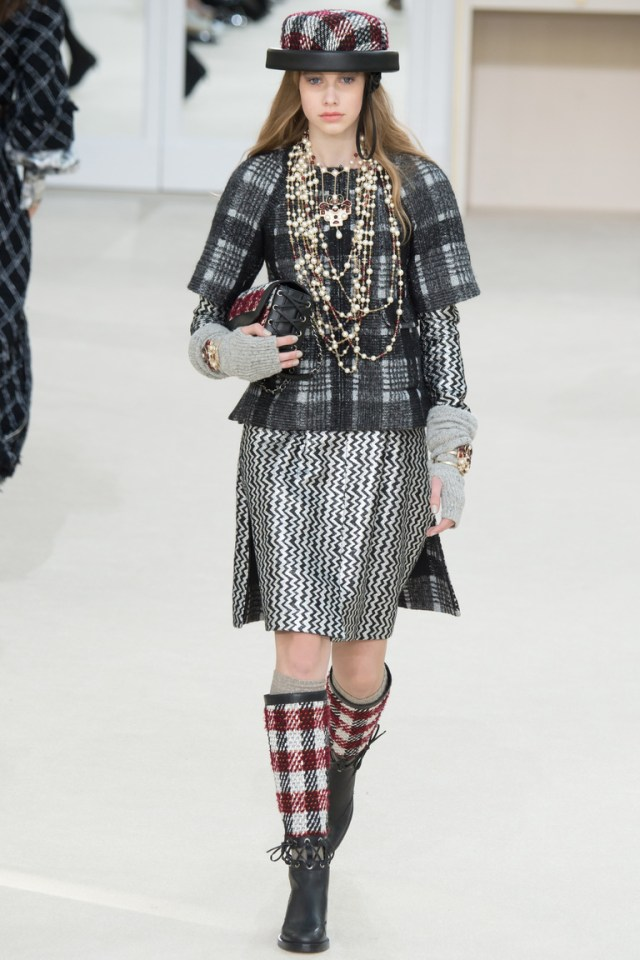 Модные шифоновые юбки 2017