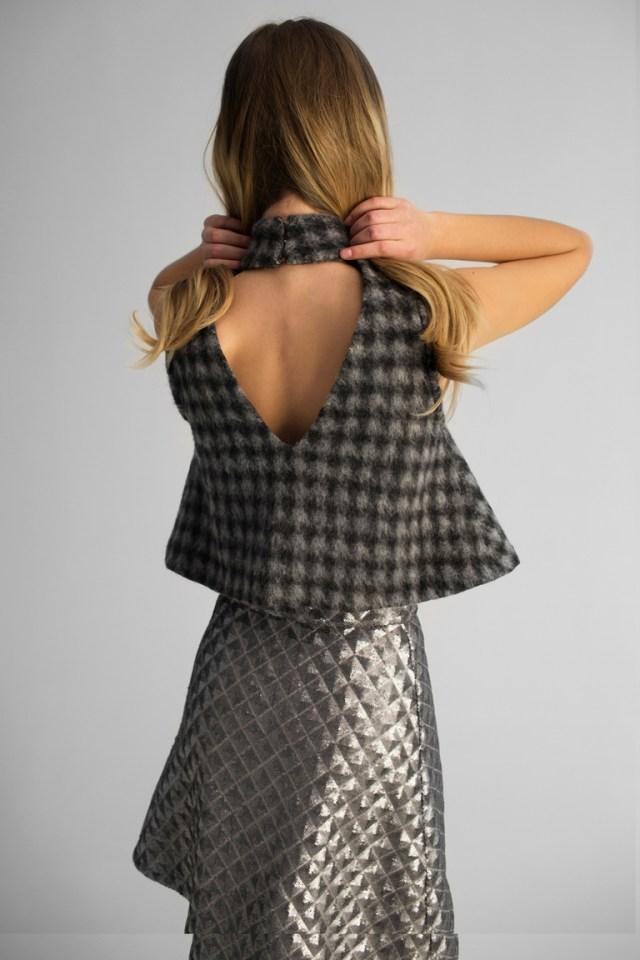 На фото: новый крутой модный образ из коллекции Kalmanovich.