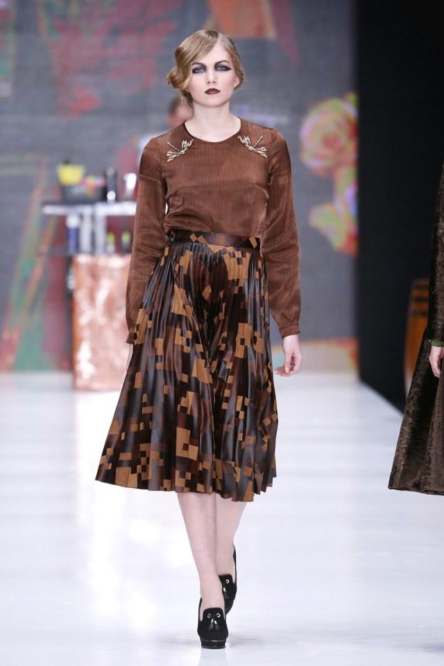 На фото: новый модный образ из коллекции Ksenia-Knyazeva.