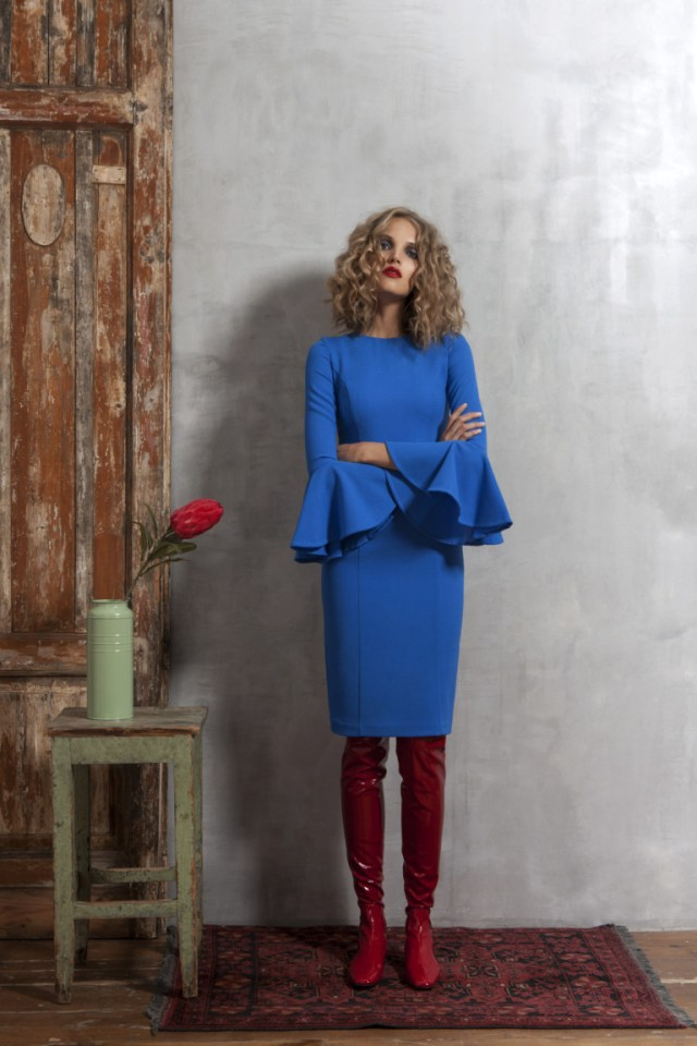 На фото: новый крутой модный образ из коллекции Valevskaya.