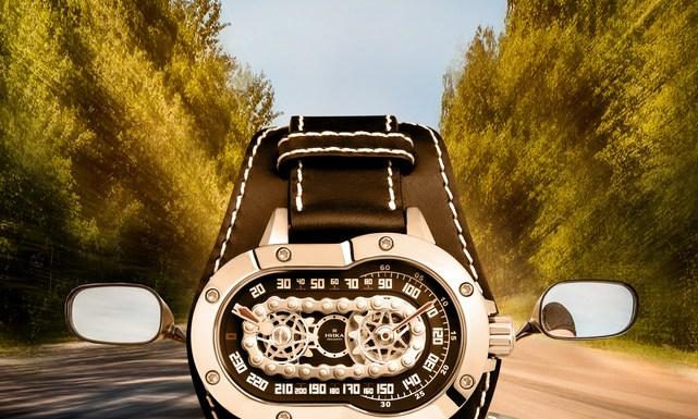 НИКА Exclusive открывает сезон путешествий лимитированной серией часов с автоподзаводом МОТОline.