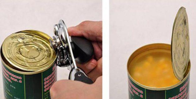 Принадлежности для кухни. Консервный нож
