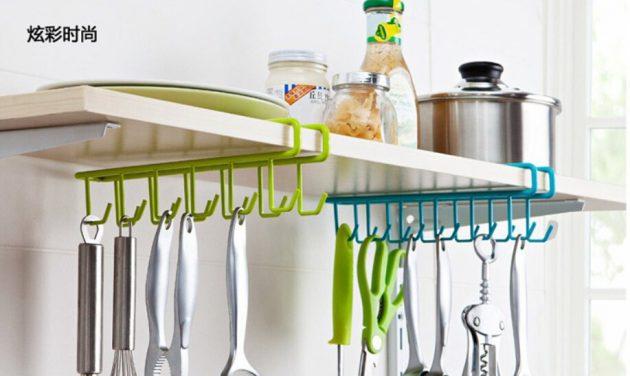 Кухонная утварь. Сороконожка для хранения поварешек