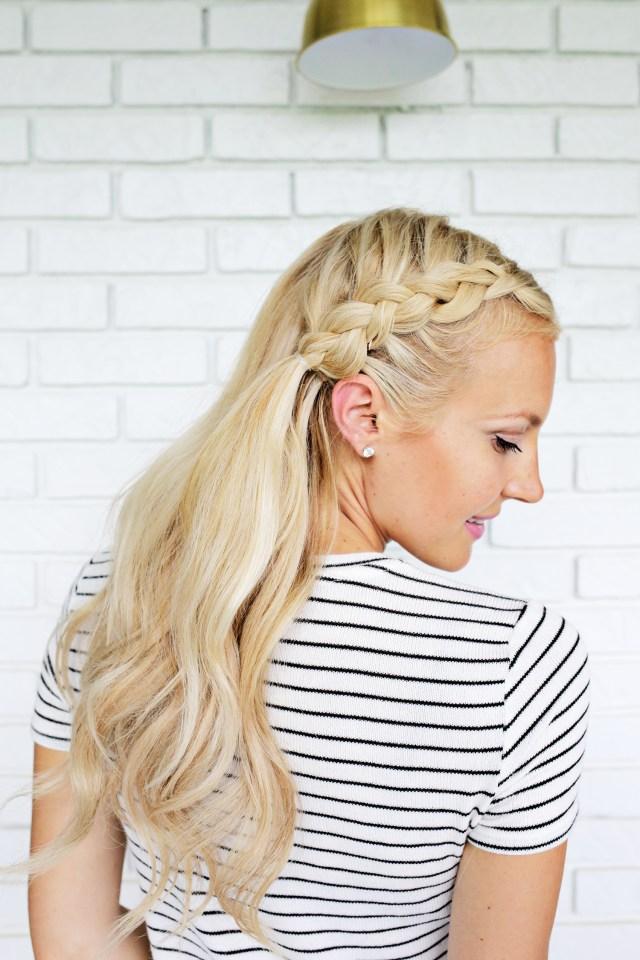 «Русалка» - прическа для средних волос фото мастер-класс