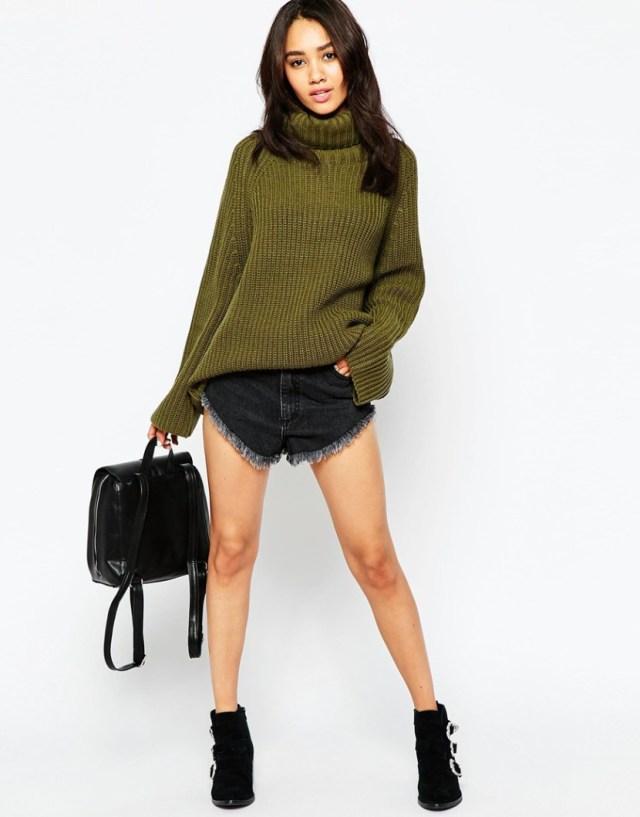 Зеленая модная кофта 2017 - фото новинки и тренды сезона