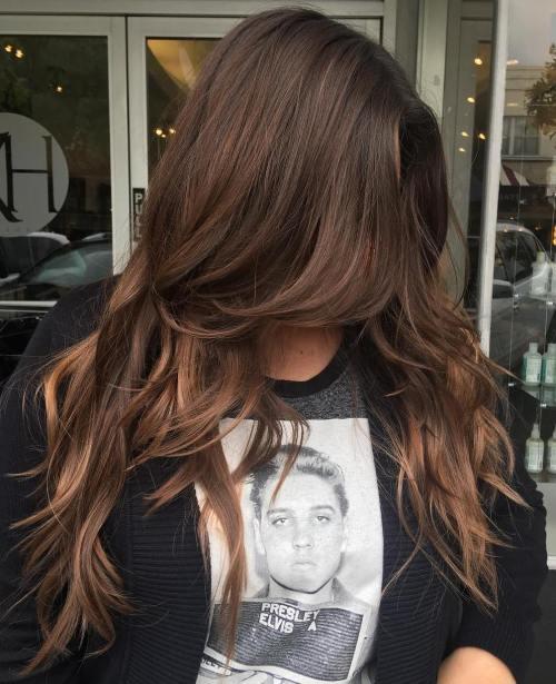 Роскошные длинные волосы, новая модная стрижка 2017