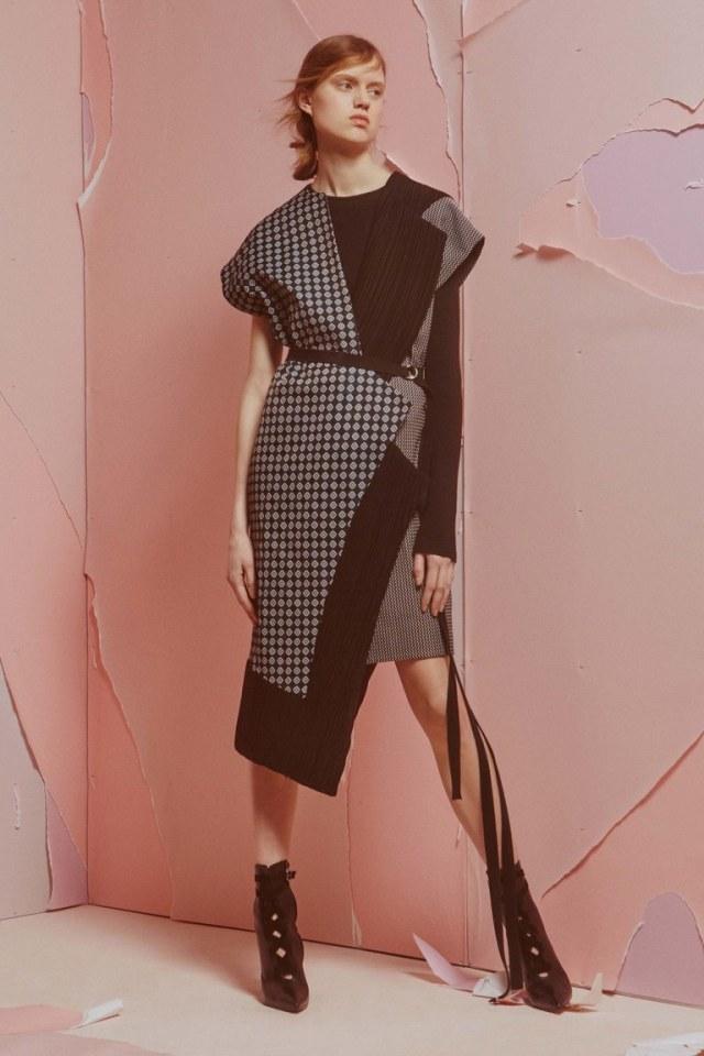 Серый модный кардиган 2017 в стиле гранж фото обзор коллекции ADEAM.