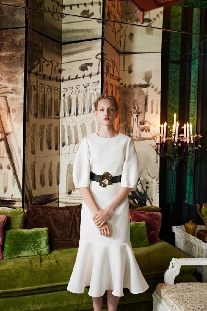 Белое платье годе 2017 года - фото обзор коллекции Co.
