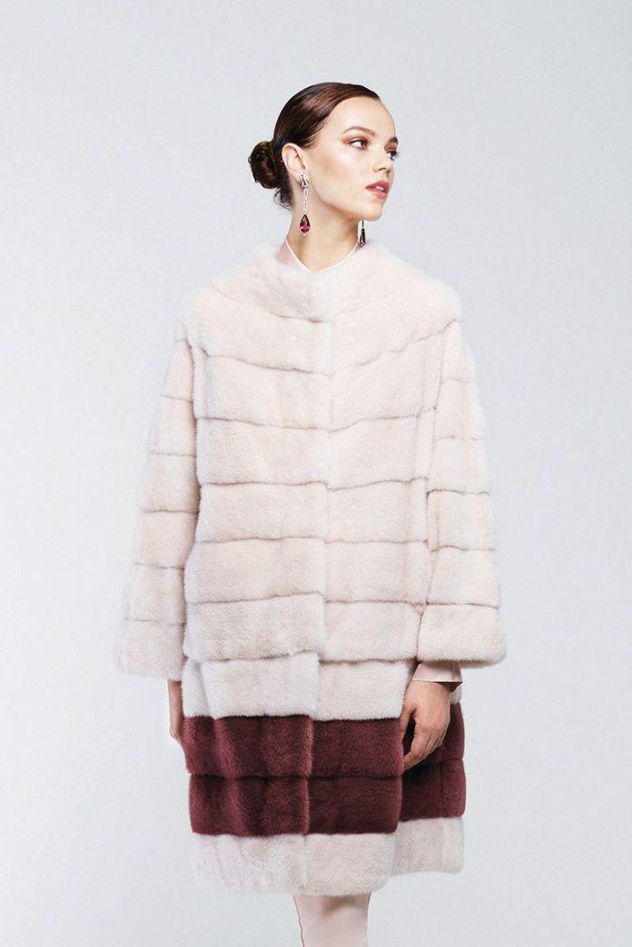 Модные шубы 2017: шуба из - коллекции Helen Yarmak.