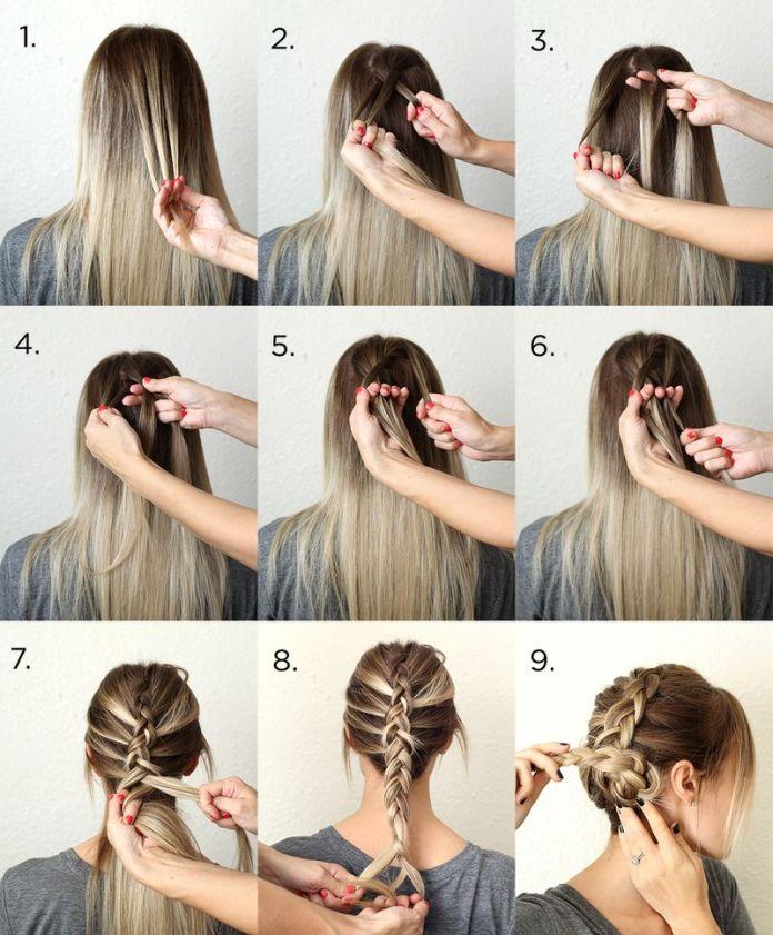 Датские косы – мастер-класс прически