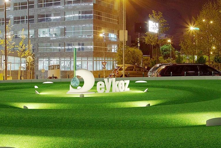 Kavacık Meydanı Açık Alan Sanat Eseri