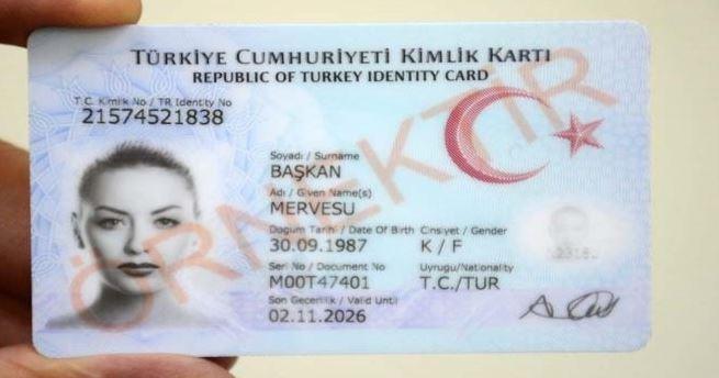 Türkiye Cumhuriyeti Kimlik Kartı Başvuru İşlemi