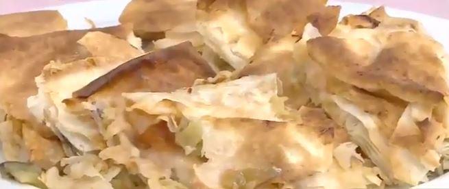 Patlıcanlı Tepsi Börek Tarifi
