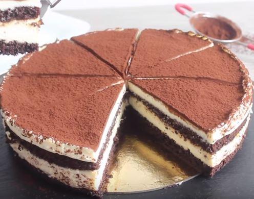 Kek İle Tiramisu yapımı