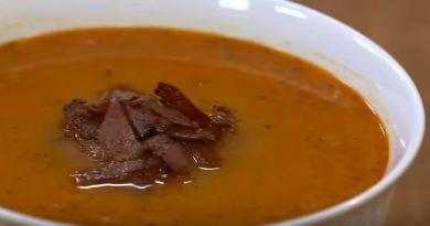 Pastırmalı Tarhana Çorbası yapımı