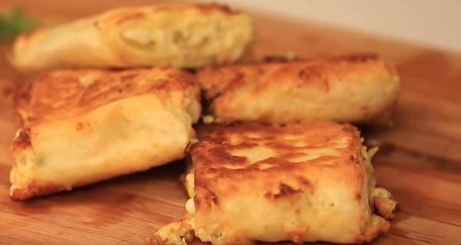 3 Peynirli Börek yapımı