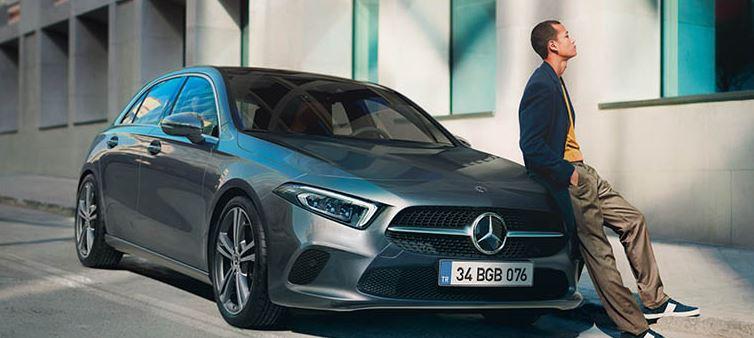 Mercedes A180D test