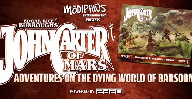 John Carter of Mars – Adventures on The Dying World of Barsoom