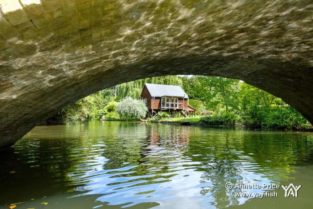 Hennerton Backwater near Wargrave, UK.