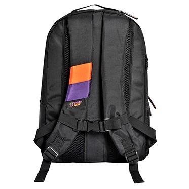 Urban Junk – Bionic Black 3rd Dimension Embossed Rucksack/Backpack