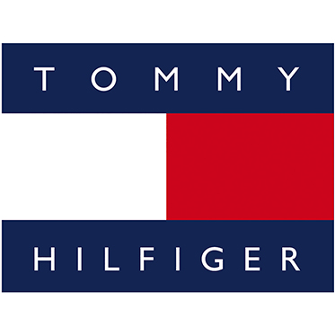 Tommy Hilfiger – Transparent Brown Classic Sunglasses with Case