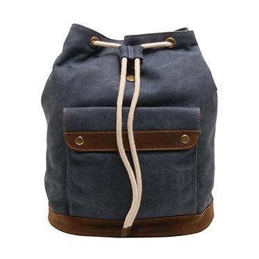 Cactus – Large Rucksack/Backpack in Denim Blue Canvas