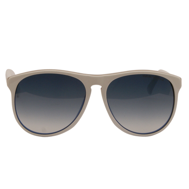 Emporio Armani – White with Blue Back Wayfarer Aviator Sunglasses