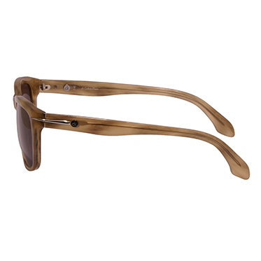Calvin Klein CK -Light Brown Marble Classic Style Sunglasses with Case
