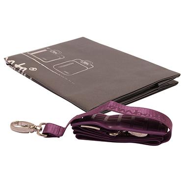 Bombata – Purple Classic 15″ Laptop Case/Bag with Shoulder Strap