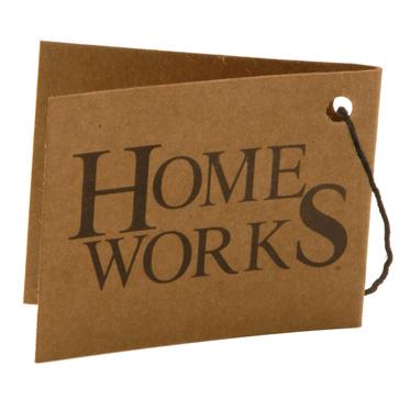 Home Works – Brown Mock Nubuck Travel Holdall