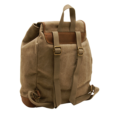 Cactus – Large Rucksack/Backpack in Khaki Canvas