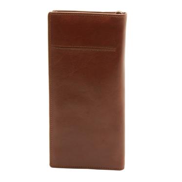 Underwood & Tanner – Large Tan Travel Organiser/Wallet in Full Grain Leather