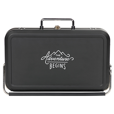 Gentlemen's Hardware – Suitcase Style Portable Barbecue in Box