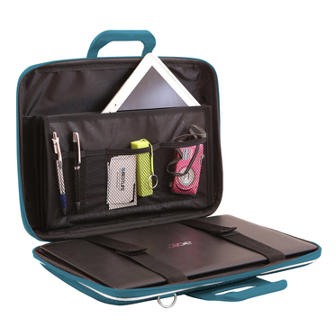 Bombata – Turquoise Blue Cocco 15″ Laptop Case/Bag with Shoulder Strap