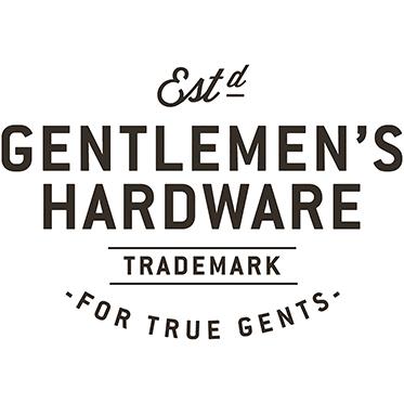 Gentlemen's Hardware – Grey Canvas & Brown Leather Card Holder in Gift Box