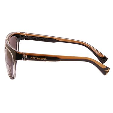 Diesel 55DSL – Black & Gold Mike Hawk Classic Retro Style Sunglasses