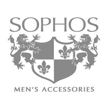 Sophos – Gunmetal & Gold Cufflinks with Dot Design in Gift Box
