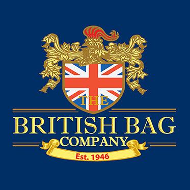The British Bag Company – Green & Red Harris Tweed Breanais Travel Bag/Holdall