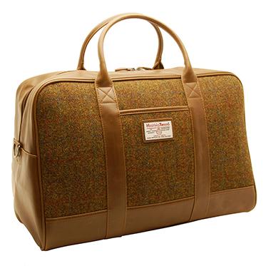 The British Bag Company – Stornoway Harris Tweed Travel Bag/Holdall