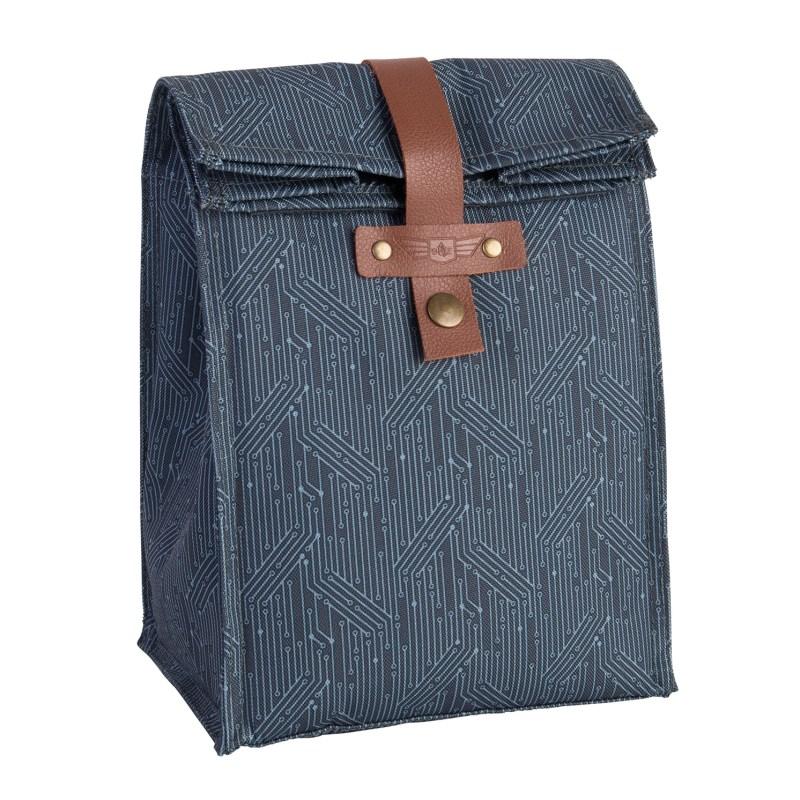 Beau Elliot – 'Circuit' Blue Insulated Lunch Bag & Matching Insulated Travel Mug