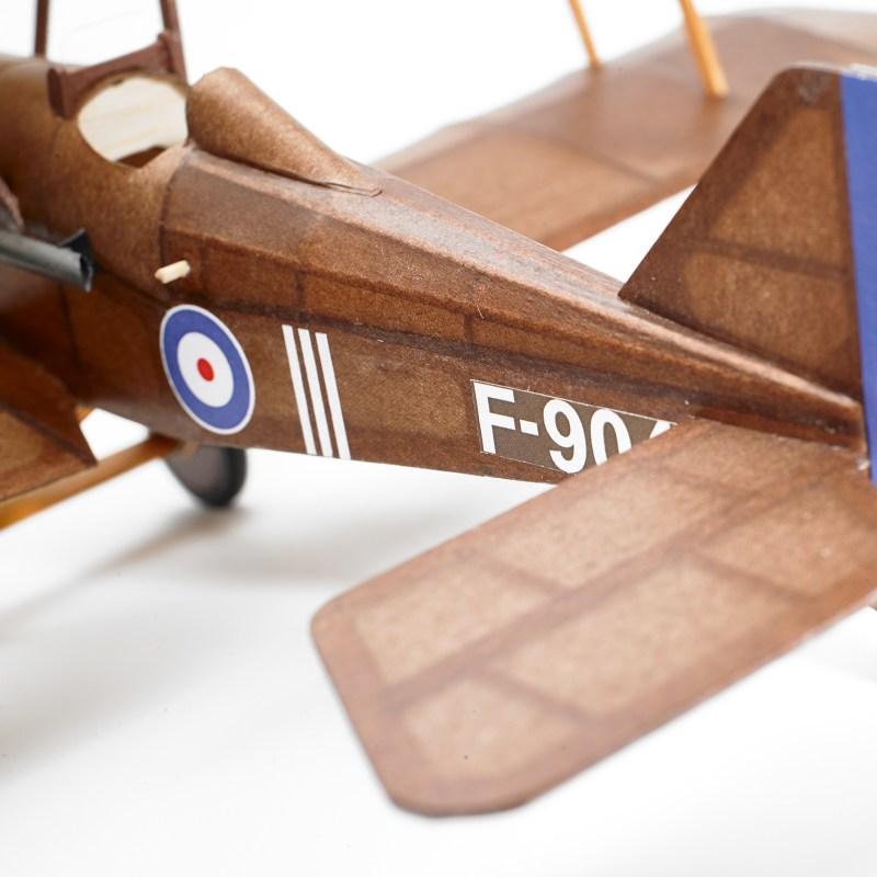 The Vintage Model Company – SE5A Balsa Wood Kit